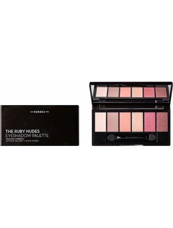 Korres The Ruby Nudes Eyeshadow Palette 6gr