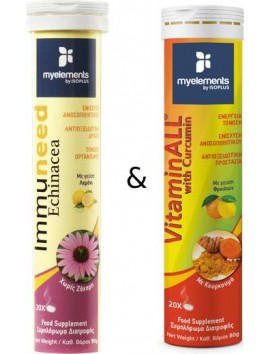 My Elements Immuneed Echinacea + VitaminAll with Curcumin 20+20 eff.tabs