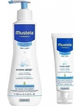 Mustela Hydra Bebe Body Lotion 300ml & ΔΩΡΟ Hydra Bebe Face Cream 40ml