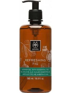 Apivita Refreshing Fig Αφρόλουτρο με Αιθέρια Έλαια 500ml