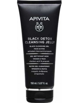 Apivita Black Detox Cleansing Jelly 150ml
