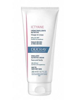 Ducray Ictyane Emollient Nutritive Cream - 200ml