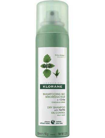 Klorane Shampooing sec Seboreducteur a l'Ortie Cheveux Gras 150ml