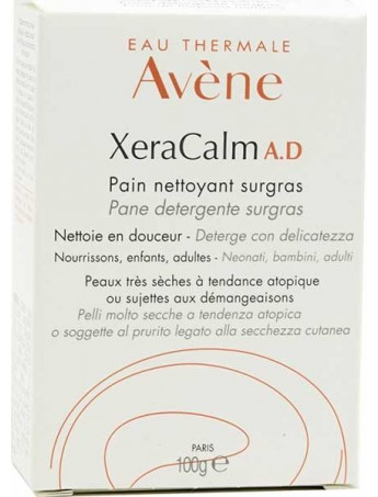 Avene XeraCalm A.D Pain Nettoyant Surgras - 100gr