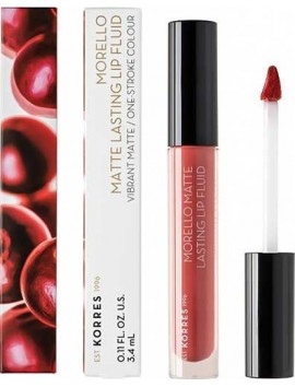 Korres Morello Matte Lasting Lip Fluid 41 Pink Lemonade