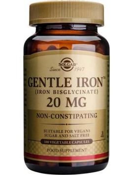 Solgar Gentle Iron 20mg - 180veg.caps