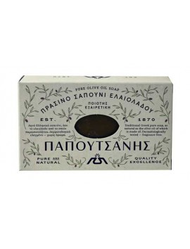 Papoutsanis Παραδοσιακό Πράσινο Σαπούνι Ελαιολάδου - 125gr