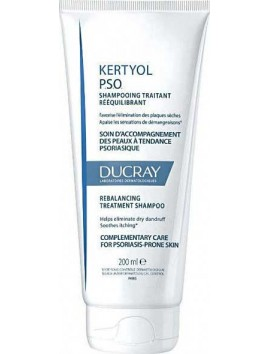 Ducray Kertyol P.S.O. Shampooing Traitant Reequilibrant - 200ml