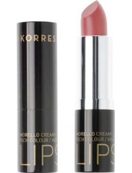 Korres Morello Creamy Lipstick 16 Ζεστό Ροζ - 3,5gr