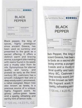 Korres Aftershave Balm Black Pepper - 125ml