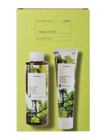 Korres Αφρόλουτρο Πράσινο Τσάι - 250ml & Γαλάκτωμα Σώματος Πράσινο Τσάι - 125ml