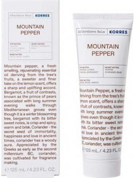 Korres Aftershave Balm Mountain Pepper - 125ml