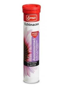Lanes Echinacea με Vitamin C & Ψευδάργυρο Μέλι Λεμόνι - 20eff.tabs