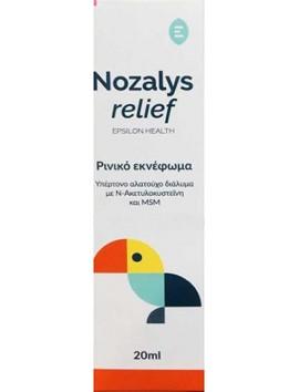 Epsilon Health Nozalys Relief 20ml