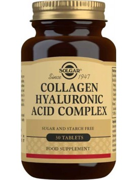Solgar Collagen Hyaluronic Acid Complex - 30tabs