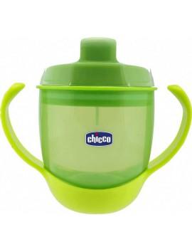 Chicco Κύπελλο Φαγητού Πράσινο 12m+ 180ml