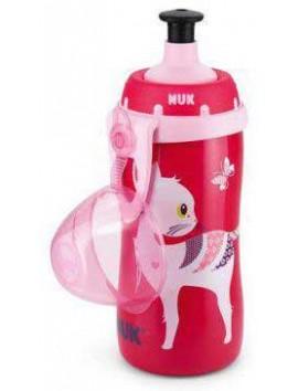 Nuk Παγουράκι Junior Cup 36m+ Ροζ - 300ml