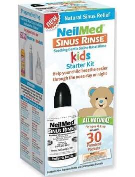 NEILMED Sinus Rinse Kids Starter Kit - 30sachets