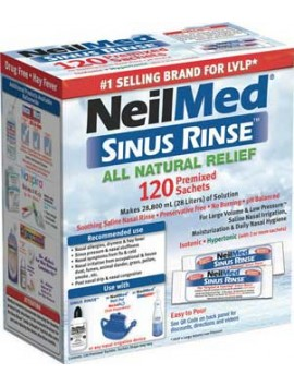 NEILMED All Natural Sinus Relief - 120sachets
