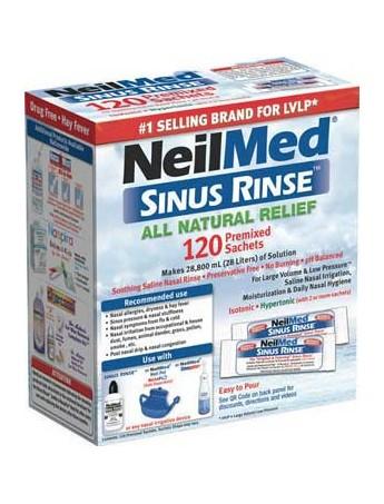 NEILMED All Natural Sinus Relief - 120sachets