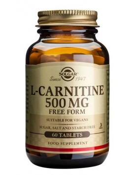 Solgar L-Carnitine 500mg - 60tabs
