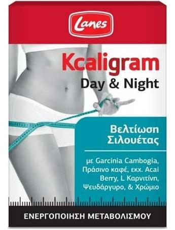Lanes Kcaligram Day & Night Βελτίωση Σιλουέτας - 60caps