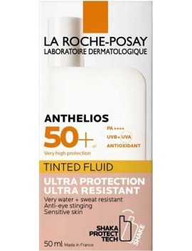 La Roche-Posay Anthelios Tinted Fluid with Shaka Protect Tech SPF50+ - 50ml