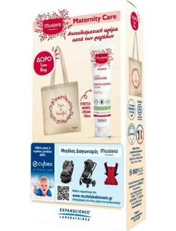 Mustela Stretch Marks Cream Κρέμα Για Ραγάδες - 150ml & Δώρο Tote Bag