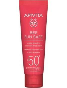 Apivita Bee Sun Safe Hydra Sensitive Soothing Face Cream SPF50 - 50ml