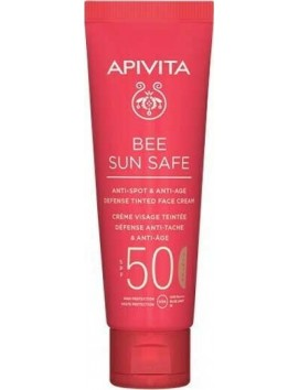 Apivita Bee Sun Safe Anti-spot & Anti-age Tinted SPF50 - 50ml
