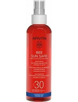 Apivita Bee Sun Safe Tan Perfecting Body Oil SPF30 - 200ml