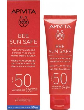 Apivita Bee Sun Safe Anti-Spot & Anti-Age SPF50 - 50ml