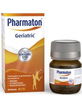 Pharmaton Geriatric με Ginseng G115 - 30δισκία