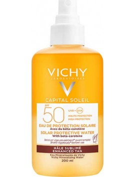 Vichy Capital Soleil Solar Protective Water with Beta Carotene SPF50 - 200ml