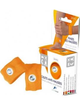 Pharmavoyage Anti-Nausea Bracelet 2τεμ. Πορτοκαλί Small