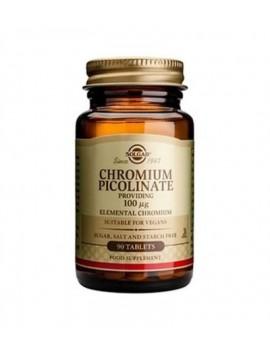 Solgar Chromium Picolinate 100μg - 90tabs