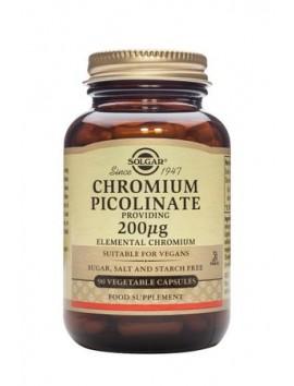 Solgar Chromium Picolinate 200μg - 90veg.caps