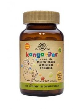 Solgar Kangavites Multivitamin & Formula (Tropical flavor) 60chewtabs