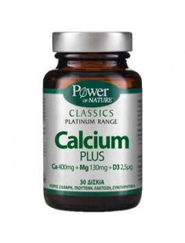 Power Health Classics Platinum Range Calcium Plus 30tabs