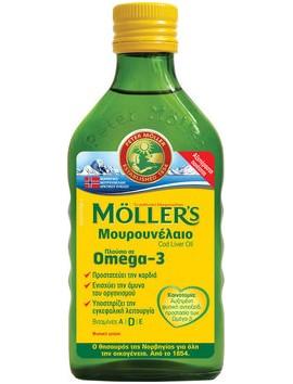 Moller's Μουρουνέλαιο με Φυσική Γεύση 250ml