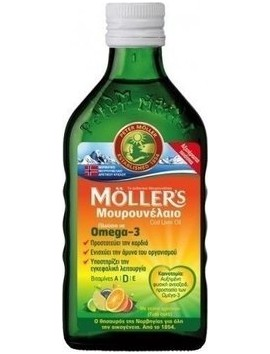 Moller's Μουρουνέλαιο με Γεύση Φρούτων 250ml