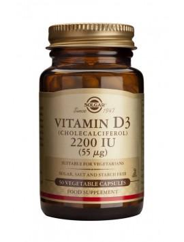 Solgar Vitamin D3 2200IU 50veg.caps