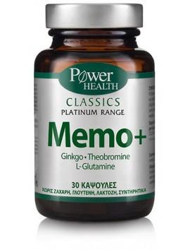 Power Health Classics Platinum Range Memo+ - 30caps