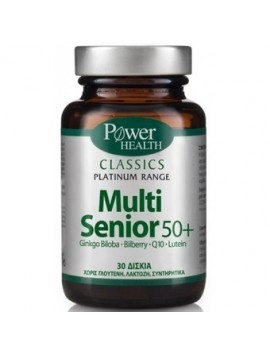 Power Health Classics Plastinum Range Multi Senior 50+ - 30tabs.