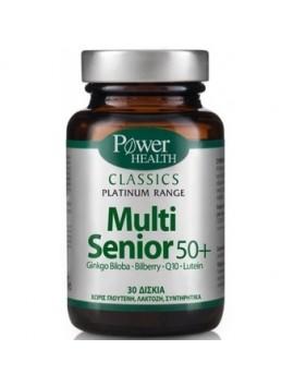 Power Health Classics Plastinum Range Multi Senior 50+ - 30tabs.