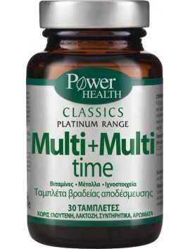 Power Health Classics Platinum Range Multi+Multi Time 30tabs.