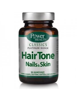 Power Health Classics Platinum Range Hair Tone Nails & Skin 30caps
