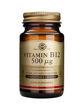 Solgar Vitamin B-12 500μg - 50veg.caps
